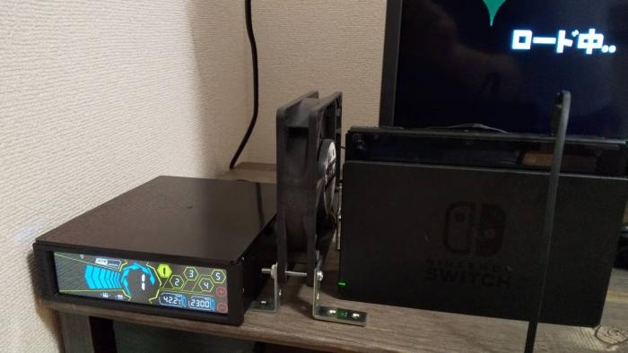 NINTENDO switch冷却ファン51