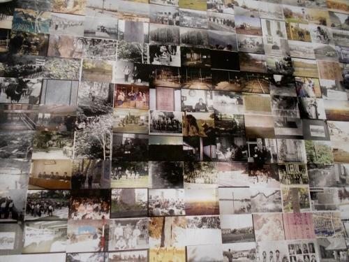 中山久蔵翁 北広島エコミュージアムセンター展示 コラージュ一部