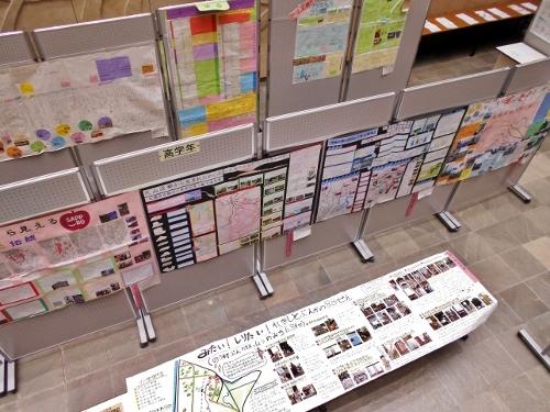 第40回札幌市児童生徒社会研究作品展 展示風景