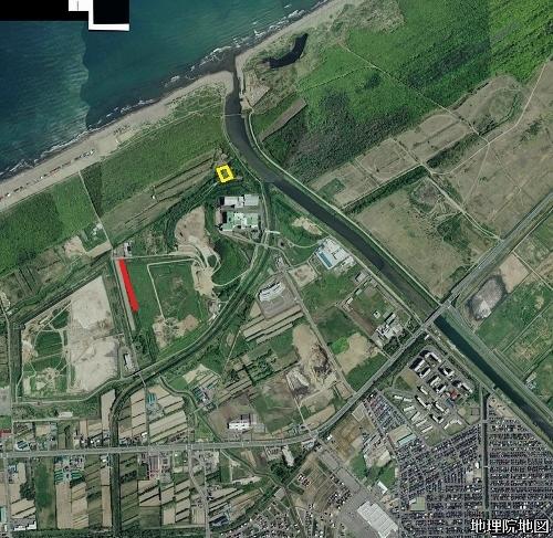 空中写真2008年 手稲山口 山口緑地