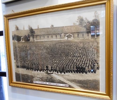 陸軍特別大演習1936年 歩兵25連隊 営内運動場