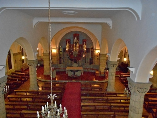 カトリック松が峰教会 内部