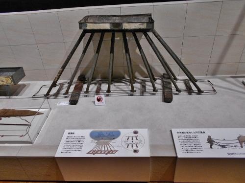 北海道博物館 展示 たこ足
