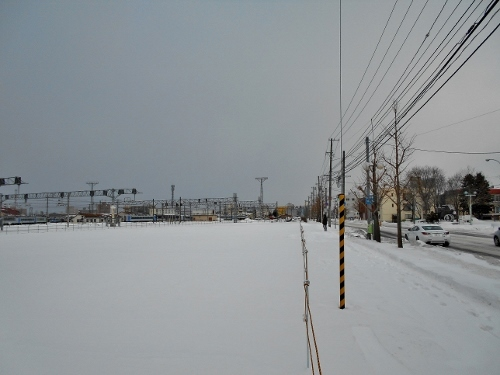 旧苗穂駅舎跡 2020年1月
