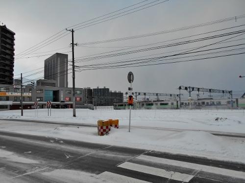 旧苗穂駅舎跡-2 2020年1月