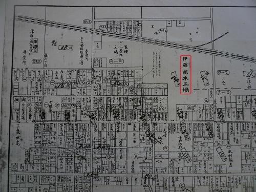 昭和3年最新調査札幌明細案内図 北3東9あたり