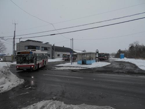 中央バス「中沼小学校通」停留所