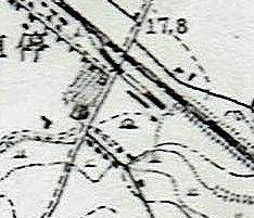 大正5年測図地形図 白石駅周辺 鈴木煉瓦工場