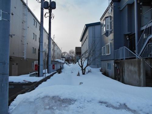 平和通6丁目北 某街区の隙間