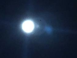 満月イヴwほぼ満月