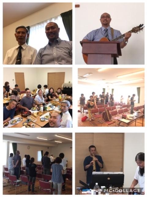 2019年8月 名古屋・江南キリスト教会で奉仕