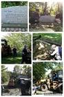 2019年9月 信徒記念碑の移動