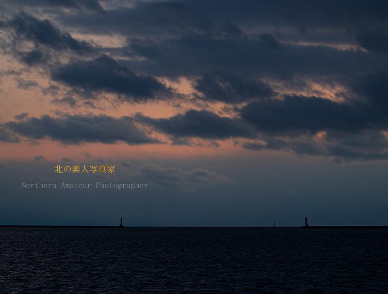 室蘭港の夕暮れAG1I4946