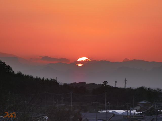 20191101夕陽と08