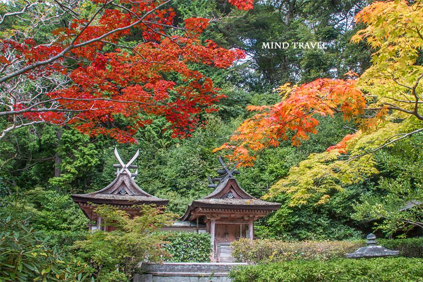 円成寺 白山神社 春日神社