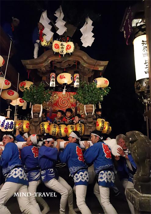 天田神社 地車2