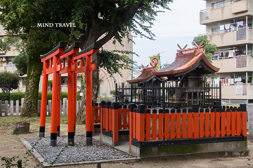 大利神社 稲荷宮(白菊明神)