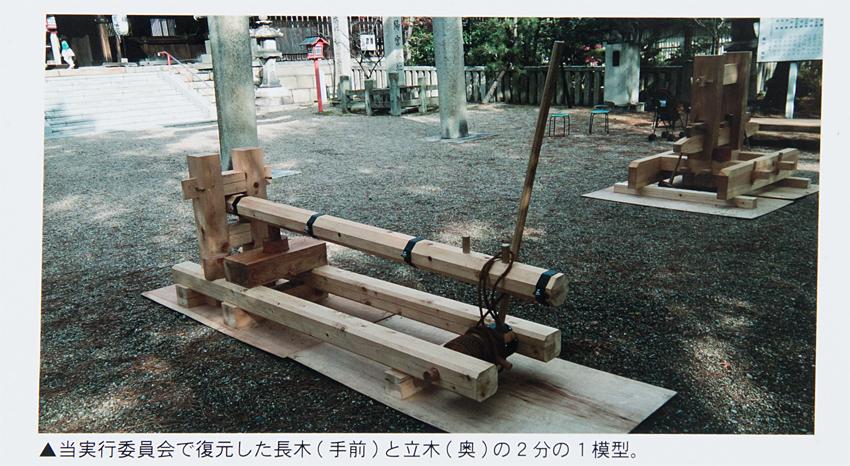 長木 模型