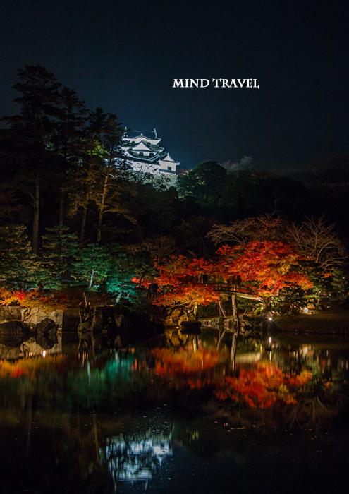 彦根城 ライトアップ2