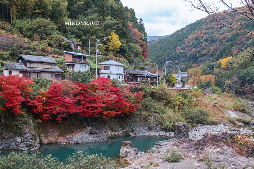 岩倉神社付近