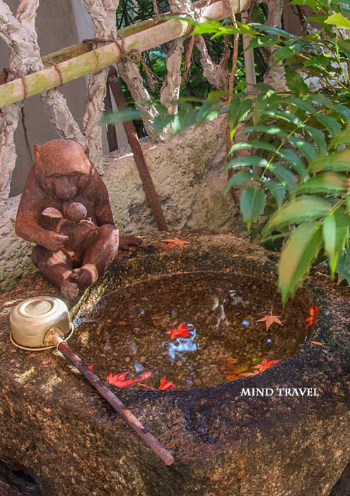猿丸神社 手水