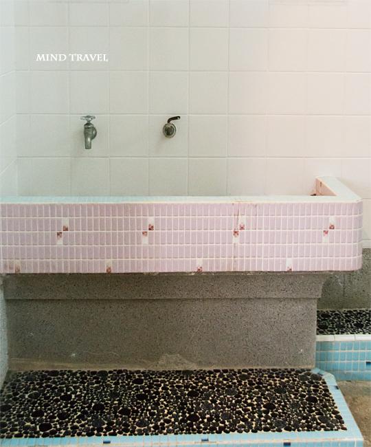 甚風呂 洗面台