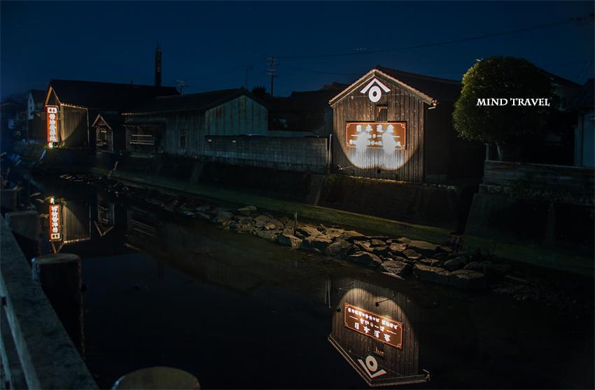 湯浅 大仙堀 夜景