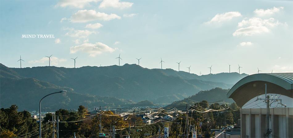 由良風力発電所 風車