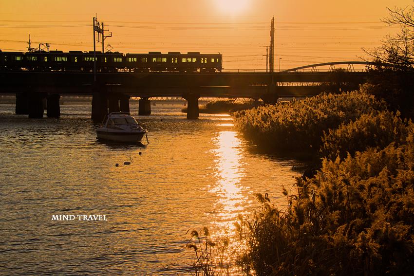 阪急電車 十三大橋