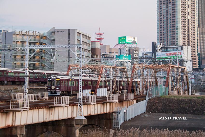 阪急電車 十三大橋4