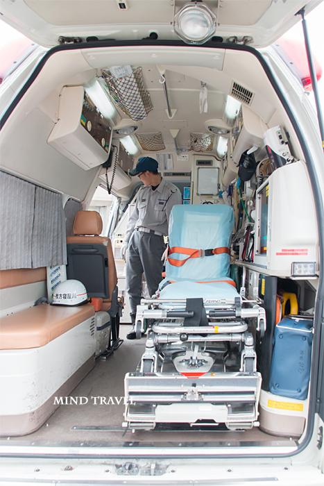 救急車の中2