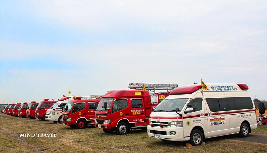 救急車 消防車