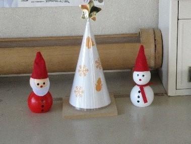 サンタの置物 (2)