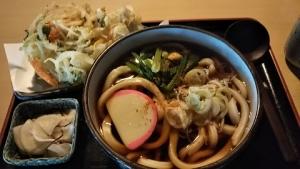 天ぷらうどん1.11.17