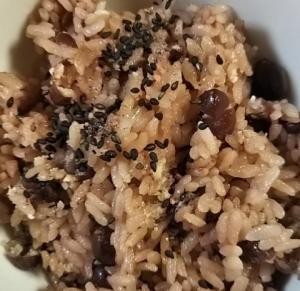 小豆ご飯2.1.26