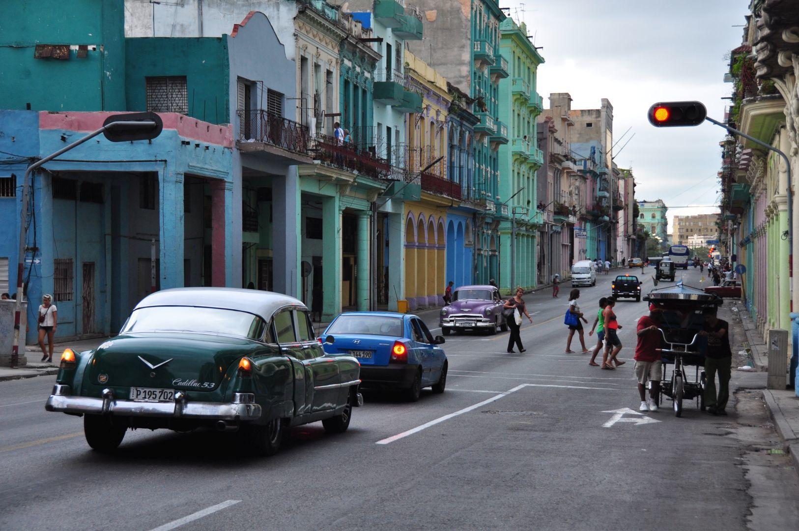 un calle de habana