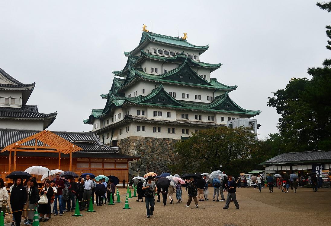 2019_10_19 名古屋城:名古屋まつり無料開放06-天守閣