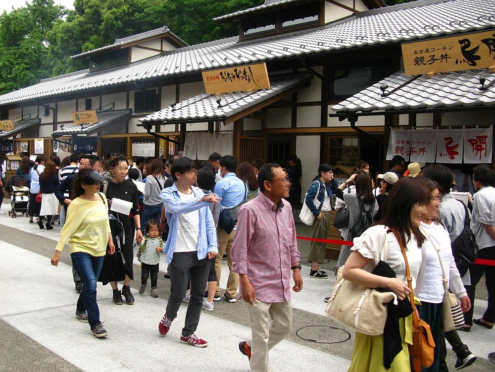 2018_05_03名古屋城:金シャチ横丁(義直ゾーン)えびせんべいの里003