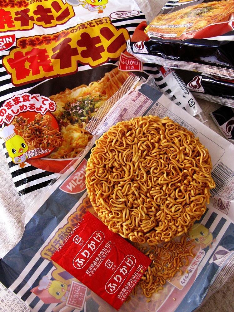2013_11_24 日清食品:チキンラーメンの焼きそば 焼きチキン08