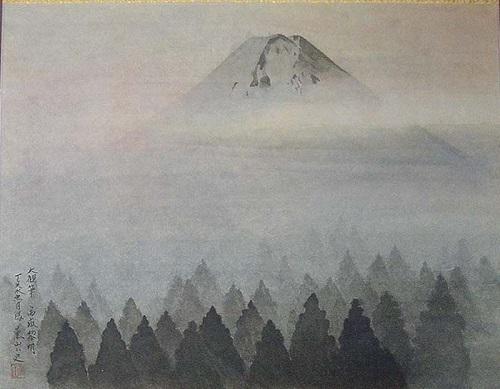 11の5富嶽黎明横山大観