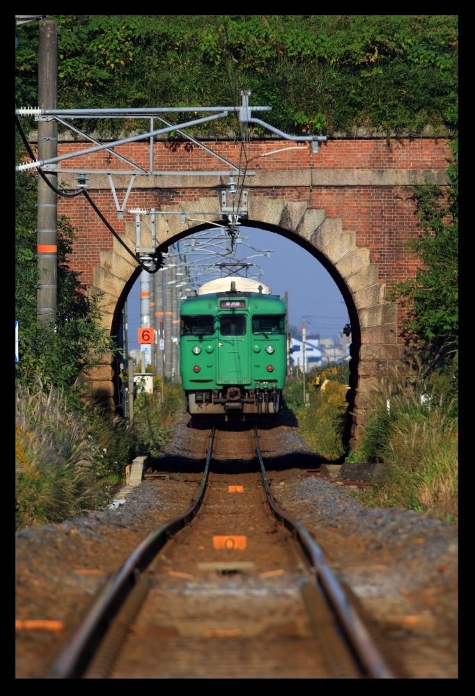 縦草津線トンネル