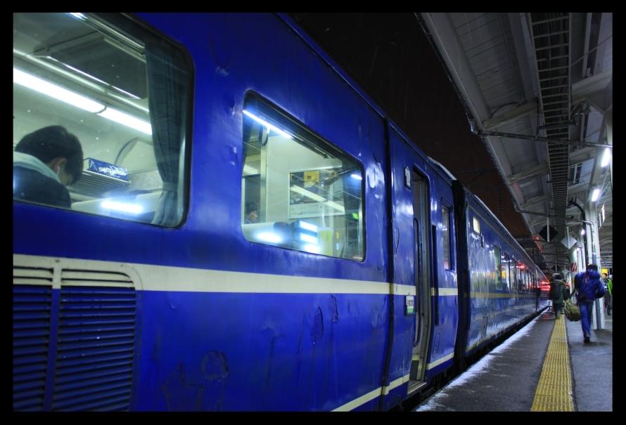 青森駅14系スナップはまなす