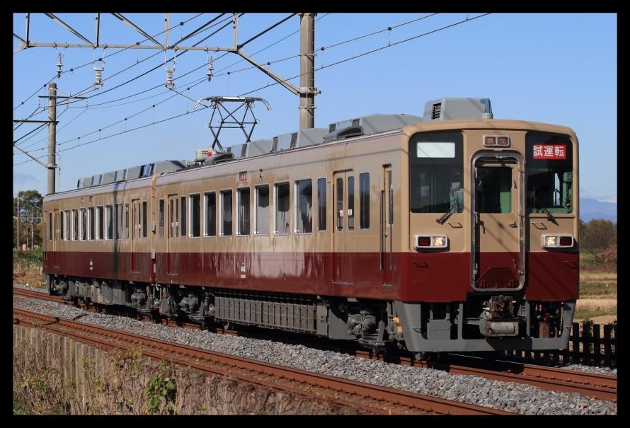 東武6162F試運転