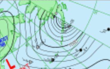 天気図 19102315 消滅