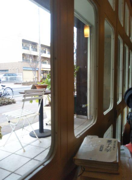 CAFE FLAT 令和元年 窓から14時台