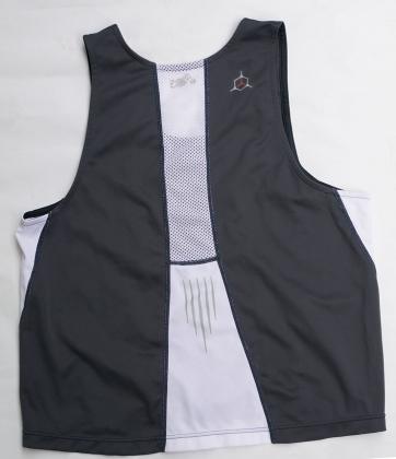 90年代男子トライアスロン-ランシャツ-バック