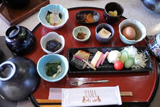 YAMA朝食