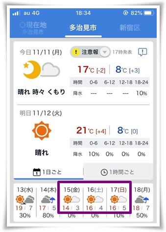天気予報1111
