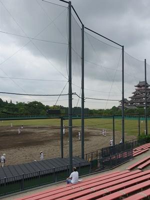 桃山城運動公園野球練習2006