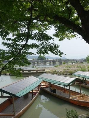 渡月橋ボート2006